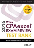 img - for Wiley CPAexcel Exam Review 2016 Test Bank: Business Environment and Concepts book / textbook / text book