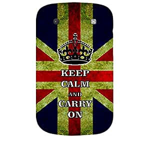Skin4gadgets Keep Calm and CARRY ON - Colour - UK Flag Phone Skin for BLACKBERRY BOLD 9900
