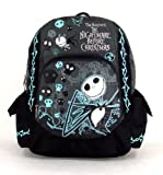 Tim Burton's the Nightmare Before Christmas - Large 16&quot; Backpack - Skull Head