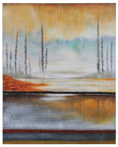 Ren-Wil OL629 Earth in Fall Hand-Painted Oil Painting by Stephane Fontaine