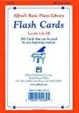 Alfred's Basic Piano Library Flash Cards, Bk 1A & 1B (Flash Cards)