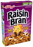 Kelloggs Raisin Bran Cereal, 18.7-Ounce Boxes (Pack of 4)