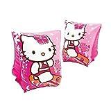 Flotadores de brazo en rosa Hello Kitty