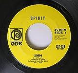 Spirit 45 RPM 1984 / Swet Stella Baby