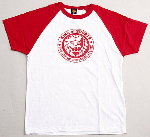 New Japan Pro Wrestling King / of / sports classic t-shirt (red) M