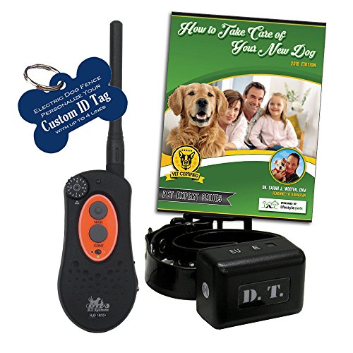 D.T. Systems H2O 1810 1 Mile Dog Remote Trainer Black