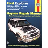 Ford Explorer: 1991 Thru 2001par Alan Ahlstrand