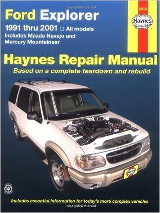 Ford Explorer 91-2001, incl Mazda Navajo/Mercury Mountaineer (Haynes Repair Manuals)