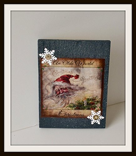 christmas-santa-primitive-old-world-santa-wall-hanging-shelf-sitter-decoration-handmade-usa-free-shi