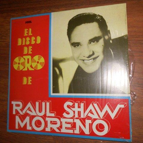 Raul Shaw Moreno El Disco De Oro Yare Vinyl