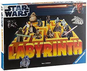 Ravensburger 26590 - Star Wars Labyrinth, Strategiespiel