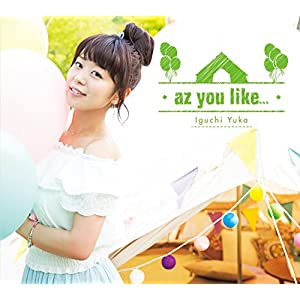 【Amazon.co.jp限定】az you like...<初回限定盤>(Amazon.co.jp限定トレカ付き)