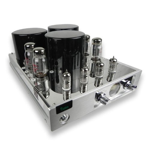 YAQIN MC-13S EL34 (6CA7) 4 Vacuum Tube Integrated Push-Pull Amplifier (Silver)