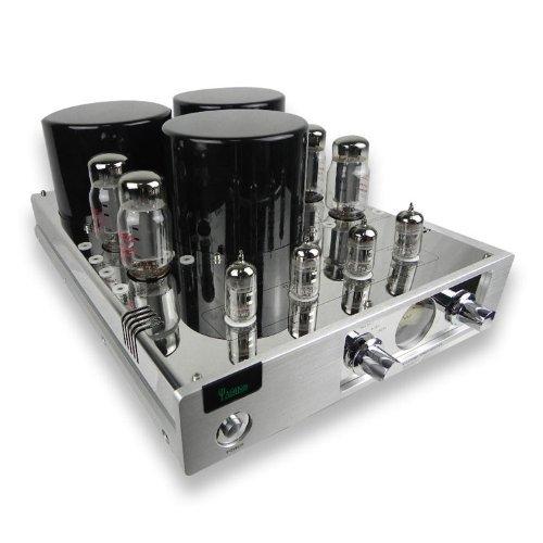 Yaqin New Mc-13S El34(6Ca7)X4 Vacuum Tube Hi-End Tube Integrated Amplifier Push-Pull Silver