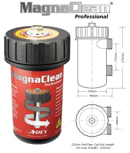 Adey Magnaclean Professional Magnetic Cleaner 22mm