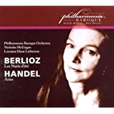 Berlioz: Nuits d'Ete, Handel: Arias