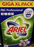 ARIEL 110 WASH 8.8KG ACTILIFT P&G PROFESSIONAL BIOLOGICAL WASHING POWDER / DETERGENT / LAUNDERY CLEANING GIGA XL PACK WASHING POWDER BIO 110 WASHES DETERGENT CLEANING POWDER FOR CLOTH / CLOTHES Ariel Biological Washing Powder WEIGHT 8.8kg
