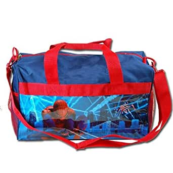 "Gift Special - Marvel Spider Man Summer Travel Kids Travel Duffle Bag , Size Approximately 17"" X 10"" Christmas Gift"
