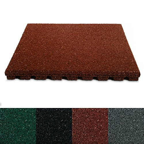 casa-pura-rubber-safety-floor-mats-40-mm-pack-of-4-50x50cm-1-sqm-red-6-colours-available