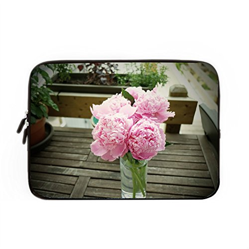 hugpillows-laptop-sleeve-bag-bouquet-pink-flower-table-notebook-sleeve-cases-with-zipper-for-macbook