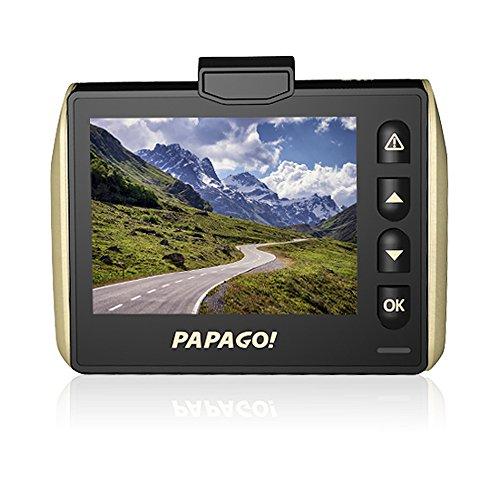 PAPAGO 国内正規販売品 世界が広がる革新的なワイドHD対応の高画質ドライブレコーダー GoSafe 525GS525-8G