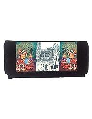 Craftstages Women's Handbags (HB1008) (BLACK)