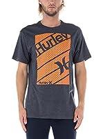 Nike Hurley Camiseta Manga Corta Territory (Gris Oscuro)