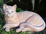 Garden ornaments Cat, Cast stone, Terracotta