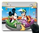 Disney Cartoon Mickey and Goofy Painting Durable Rubber Mouse Pad