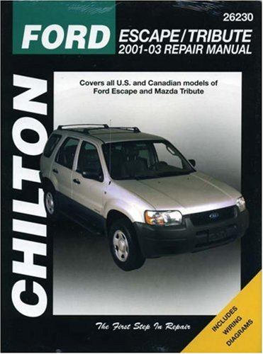 ford-escape-and-mazda-tribute-2001-03-chiltons-total-car-care-repair-manuals