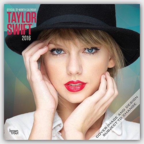 Taylor Swift 2016 - 18-Monatskalender: Original BrownTrout-Kalender [Mehrsprachig] [Kalender] hier kaufen