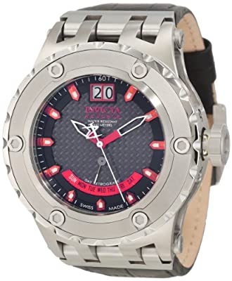 Invicta Men's 10088 Subaqua Reserve Black Carbon Fiber Dial Watch