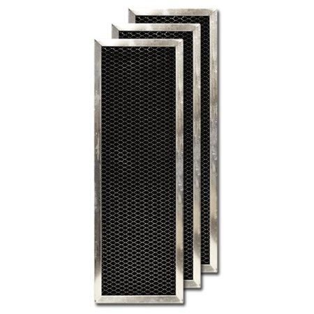 Activated Carbon Filter for Goodman/Five Seasons Air Cleaner 1856-3, 3-Pack