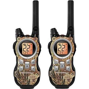 Motorola MR355R 35-Mile Range 22-Channel FRS GMRS Two-Way Radio (Pair) by Motorola