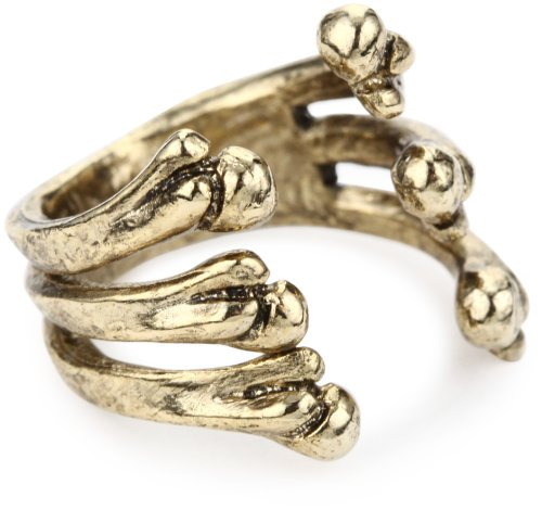 Low Luv by Erin Wasson Bone Cage Ring, Size 8