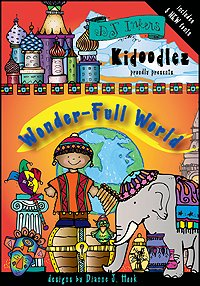 Kidoodlez: Wonder-Full World Clip Art CD