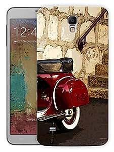 """Humor Gang Old Vintage Scooter Printed Designer Mobile Back Cover For """"Samsung Galaxy Mega 6.3"""" (3D, Matte, Premium Quality Snap On Case)"""
