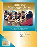 img - for Thinking Mathematically: Integrating Arithmetic & Algebra in Elementary School by Thomas P Carpenter (2003-01-16) book / textbook / text book