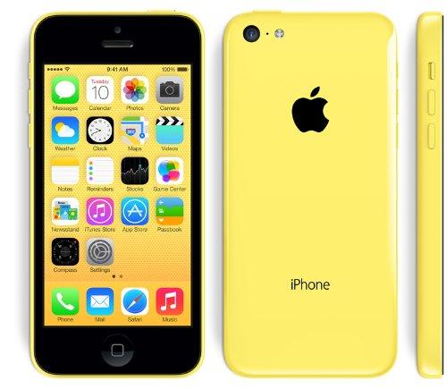 【海外版SIMフリー】Apple iPhone5C 16GB Yellow イエロー【sim free シムフリー】