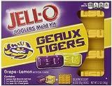 JELL-O Dessert Mold Kit, Louisiana State University, Grape Lemon, 12 Ounce.