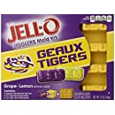JELL-O Dessert Mold Kit, Louisiana State University, Grape Lemon, 12 Ounce.