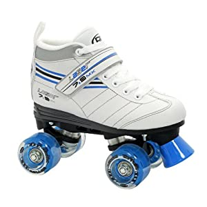 Roller Derby Girl's Laser Speed Quad Skate, Size 05