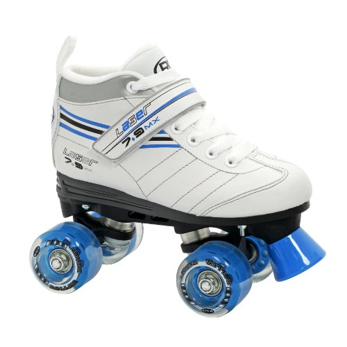 Roller Derby Girl's Laser Speed Quad Skate, Size 07