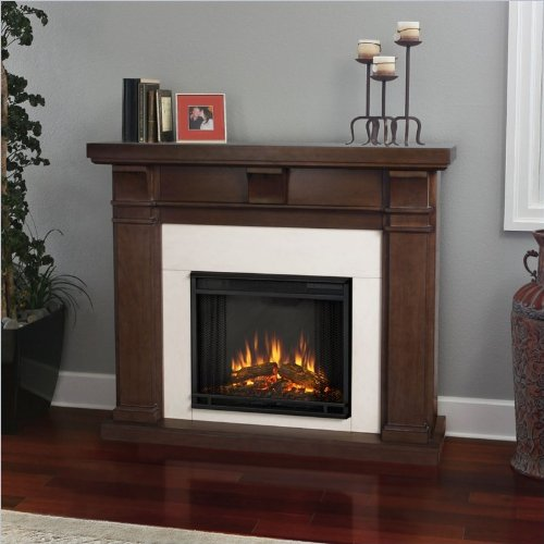 Real Flame Porter Electric Fireplace - Vintage Black Maple image B00GBPZYG8.jpg