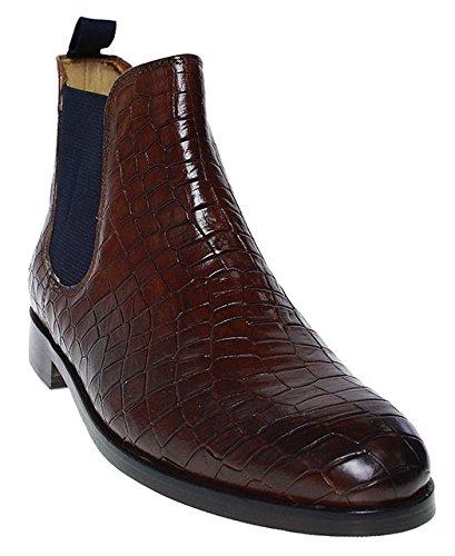 Melvin & Hamilton - Chelsea Boots Donna , marrone (marrone), 37