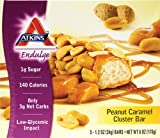 Atkins Endulge Bar Peanut Caramel Cluster -- 5 Bars