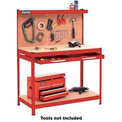 Werkbank & Schublade + Werkzeug Werkzege Rot