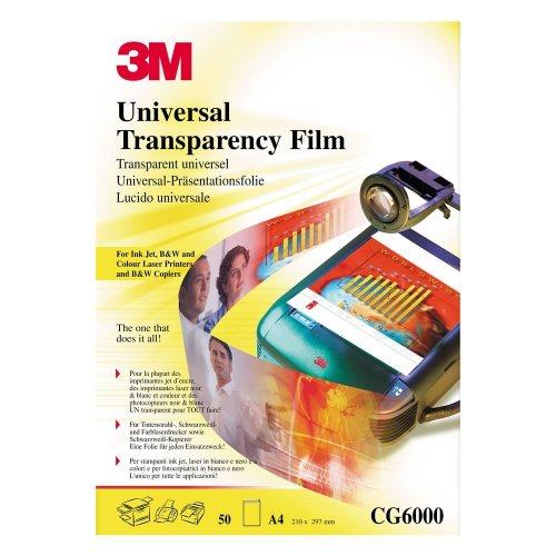Multipurpose Transparency Film  Inkjet Laser Prnt & Copiers