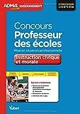 Concours Professeur des écoles - Enseignement moral et civique - Mise en situation professionnelle - CRPE 2016