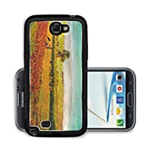 buy Liili Premium Samsung Galaxy Note 2 Aluminum Snap Case Original Oil Painting Of Father And Son In Farm Field Photo 7036819
